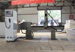 楼梯柱罗马柱雕刻机生产车间